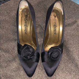 Authentic vintage YVES SAINT LAURENT heels
